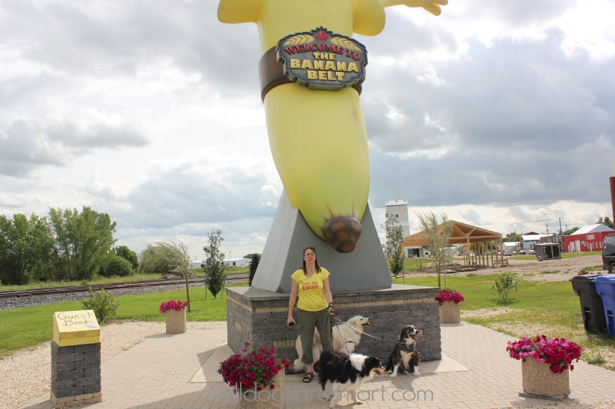 We made it to the banana!